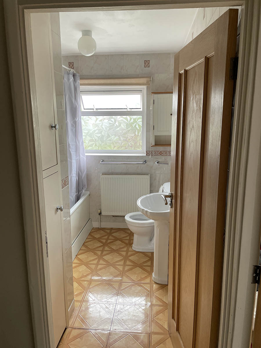 Complete Bathroom Renovation in Redhil - before